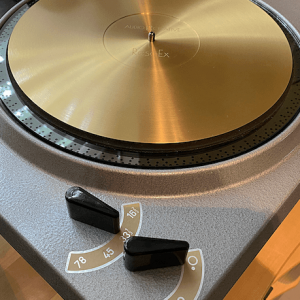 Turntable Upgrades